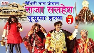 मैथिली नाच प्रोग्राम - राजा सलहेश - कुसुमा हरण (भाग-3) - Maithili Nach Program