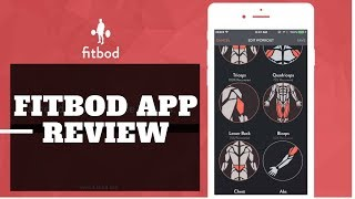 FitBod Fitness App Review (Fitness App for AppleWatch Ipad or Iphone)