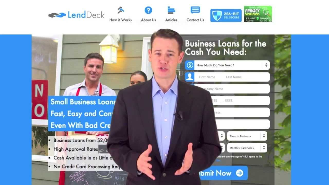 Small Business Loans For Bad Credit | Bad Credit Business Loans - YouTube
