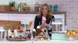 Cuisinart Fruit Scoop 1.5-qt Frozen Dessert & Ice Cream Maker on QVC