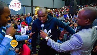 Man with a Dislocated Hip for 14 Years receives instant healing when prayed for by Pastor Alph Lukau
