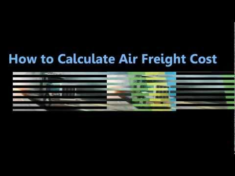 How to Calculate Air Freight Cost