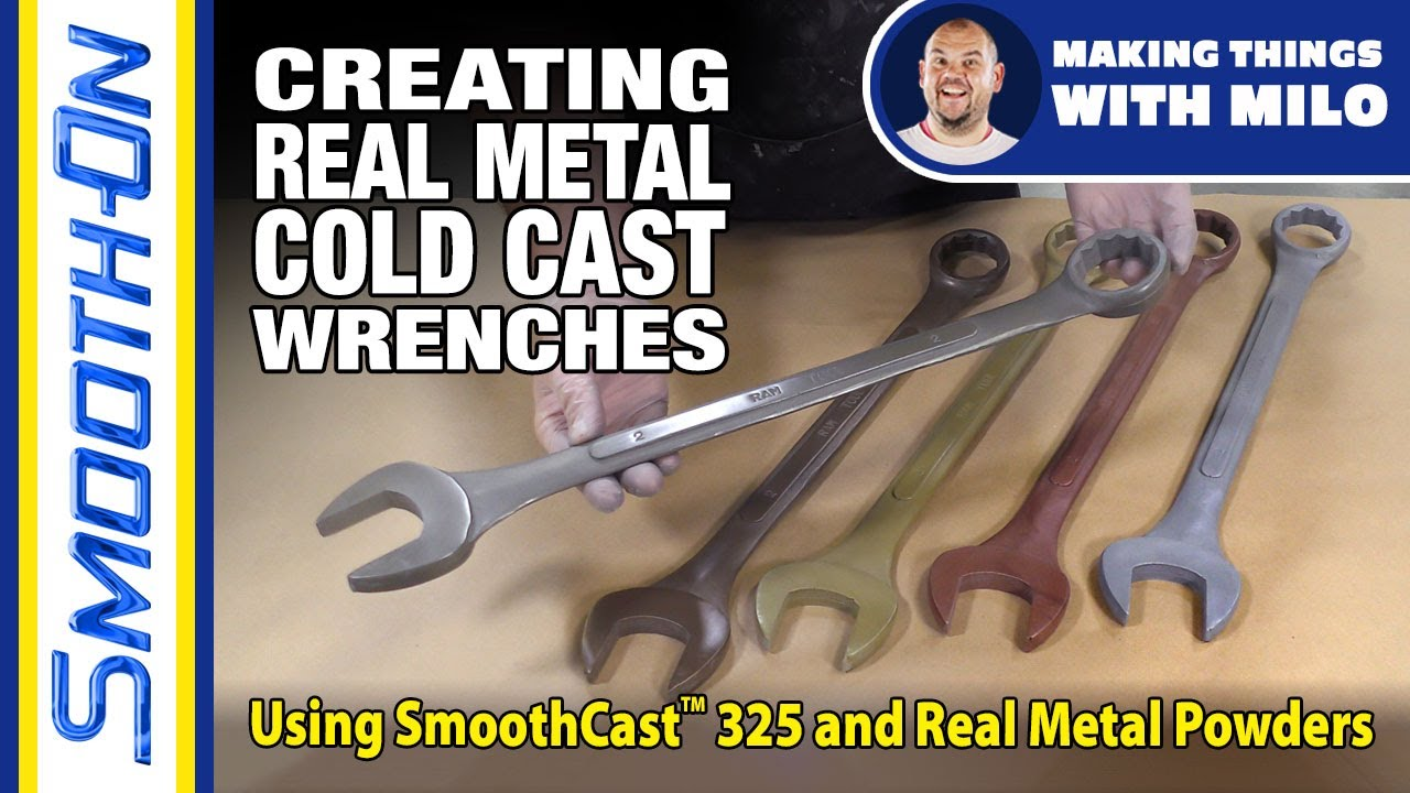 How To Make a Cold Cast Prop Wrench Using Real Metal Powders and Smooth-Cast 325
