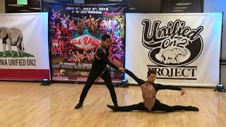 DIONEY & MIKE SALSA DANCE @ UNIFIED ON2 MARCH OF THE ELEPHANTS 2018
