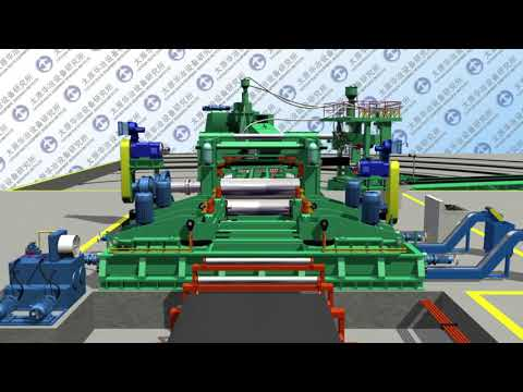 Spiral Pipe Mill Continuous Production Type