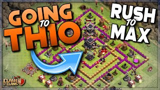 GOING TO TOWN HALL 10!  RUSH TO MAX