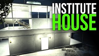 Fallout 4 Institute House Base - WORST SETTLEMENT BUILD EVER
