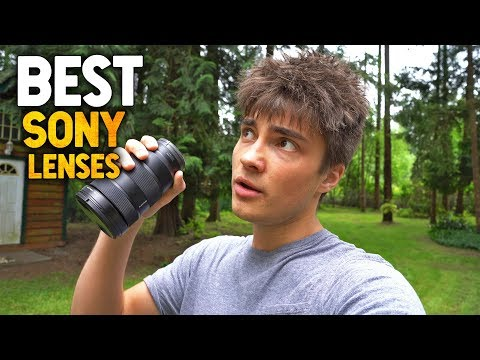ULTIMATE SONY ZOOM LENS COMPARISON