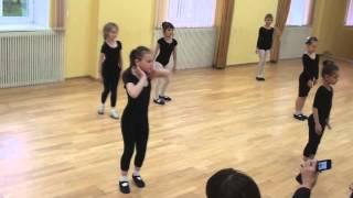 Открытый урок Современный танец группа Искры