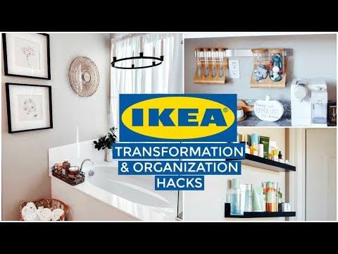 IKEA Transformation & HOME ORGANIZATION : Bathroom MAKEOVER