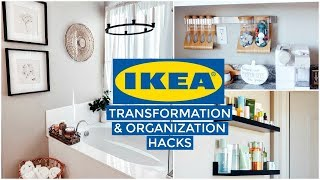 IKEA Transformation & HOME ORGANIZATION : Bathroom MAKEOVER