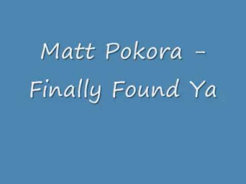 Клип Matt Pokora - Finally Found Ya
