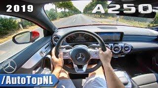 2019 Mercedes Benz A Class AMG Line A250 2.0T 224hp   POV Test Drive by AutoTopNL
