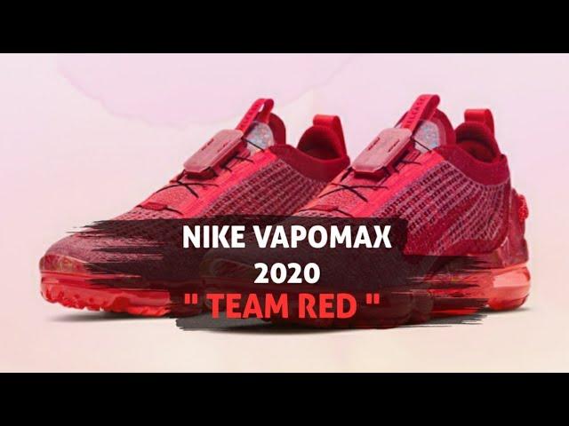 Air VaporMax 2020 Flyknit 'Team Red'