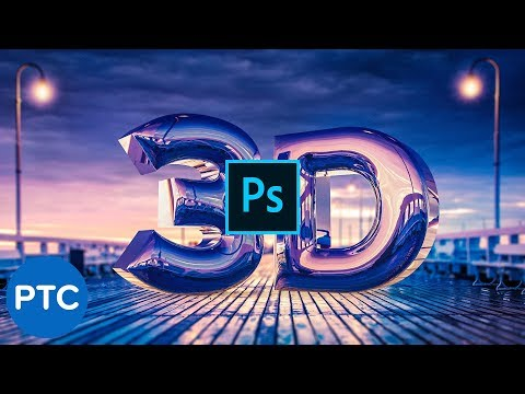 Create a REALISTIC CHROME TEXT Effect in Photoshop 3D [Easy-To-Follow Tutorial]