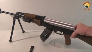 Игрушечный пулемет Калашникова РПК
