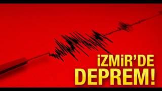 İZMİR'DE DEPREM - İZMİR SALLANDI İSTANBUL HİSSETTİ