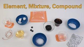 Element, Mixture, Compound