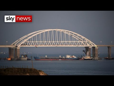 Russia opens fire on Ukrainian ships and captures three vessels