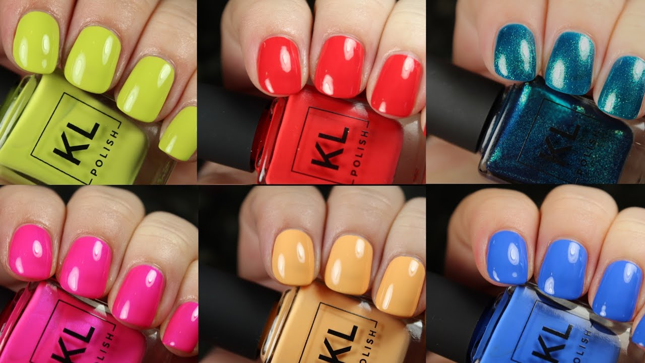 KL Polish Summer 2017 | Live Application Review - YouTube