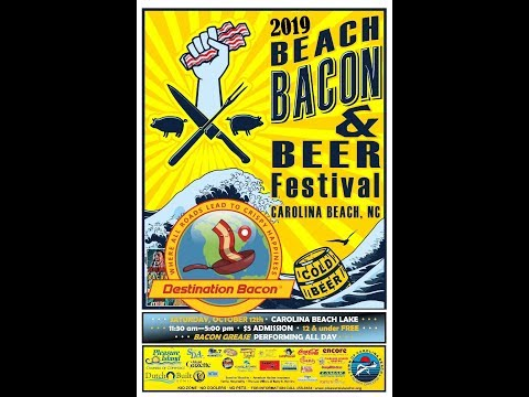 Carolina Beach 2019 Beach Bacon Beer Festival