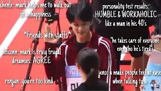 mark lee being down to earth part 4
