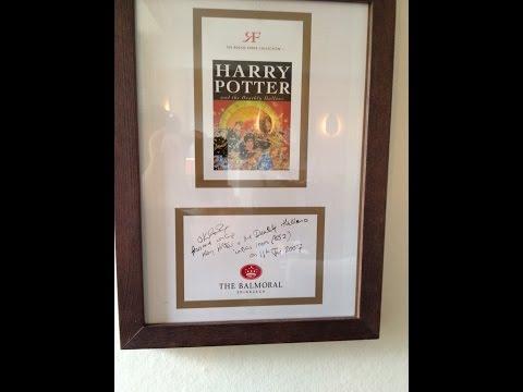 Rocco Forte The Balmoral Hotel | Edinburgh, Scotland | JK Rowling Suite