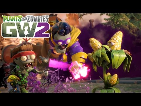 Plants Vs Zombies Garden Warfare 2 Release Trailer Youtube