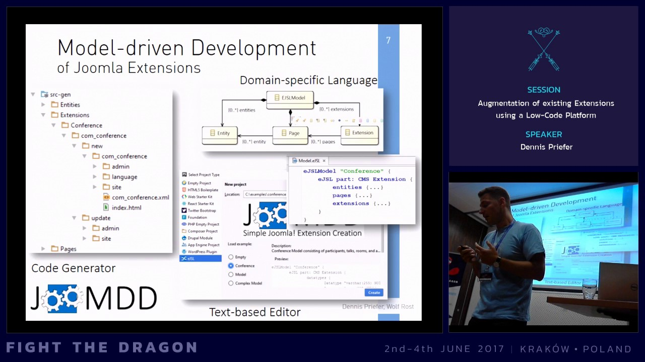 JAB17 - Augmentation of Existing Extensions using a Low-Code Platform