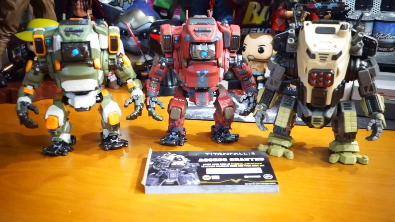 Funko Pop Games Titanfall 2 Jack And Bt Blisk And Legion