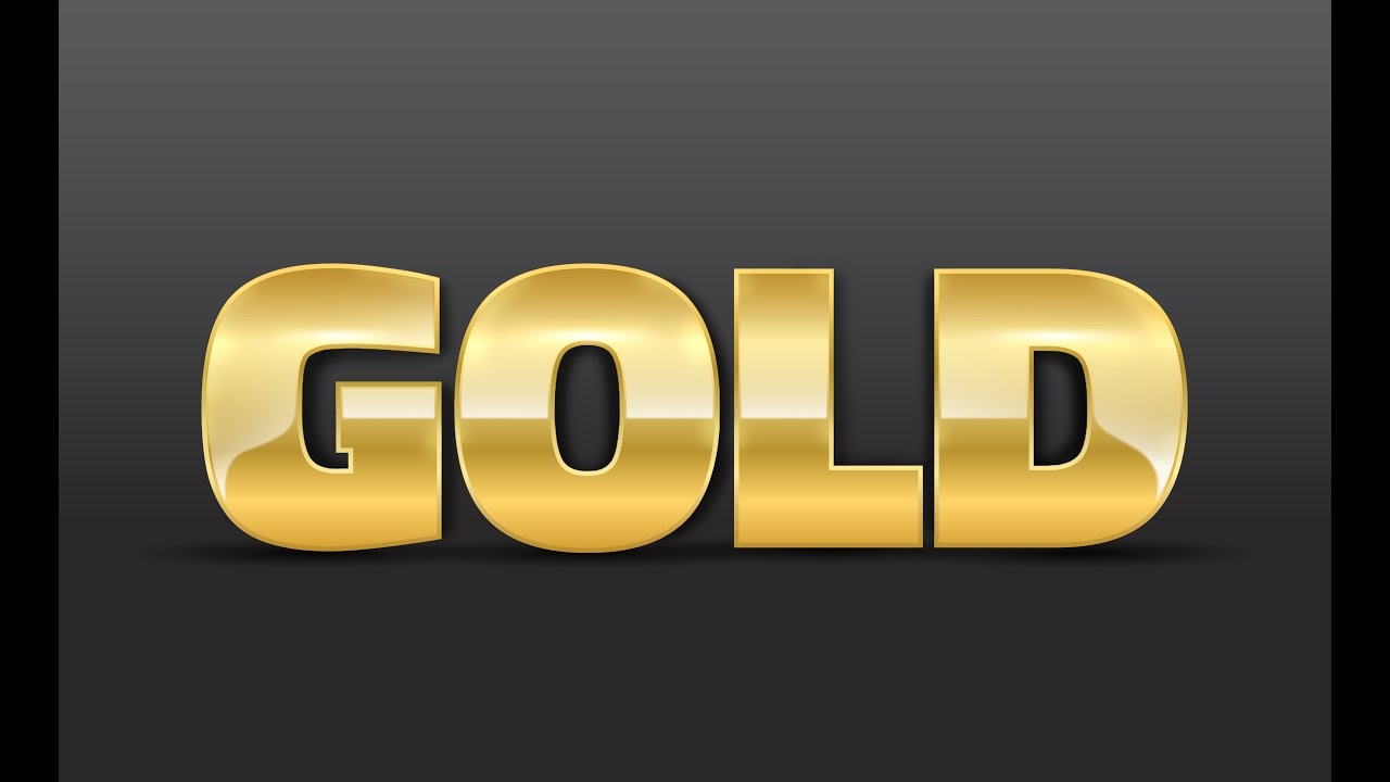 3D GOLD Text Effect | Adobe Illustrator CC | Tutorial | HD | GOLD