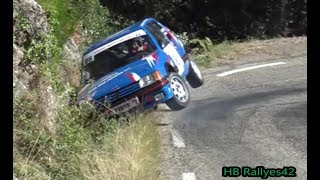 Rallye des Camisards 2018 ( crash and show) [HD] By HB Rallyes42