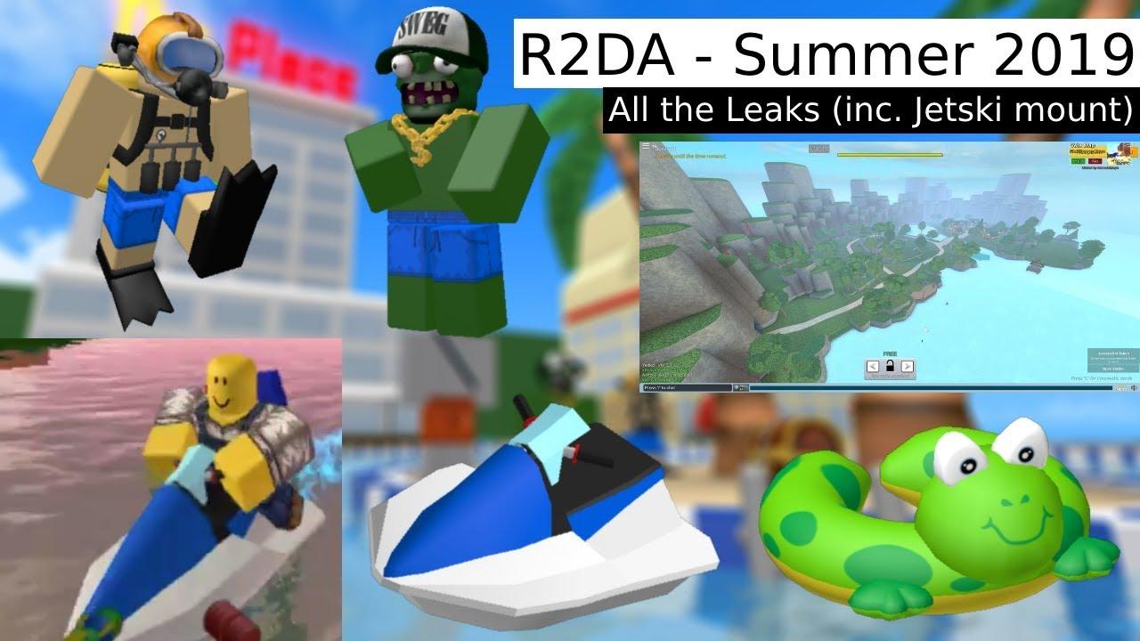 R2da Christmas 2020 R2DA   Summer 2019   New Summer Leaks (inc. Jetski Mount)   YouTube