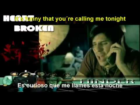 Hinder - Lips Of An Angel ( Sub ingles - español )