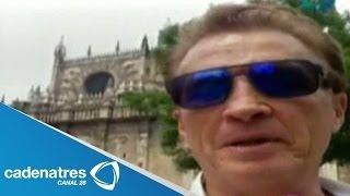 Emmanuel viaja a España con su familia  / Emmanuel travels to Spain with his family