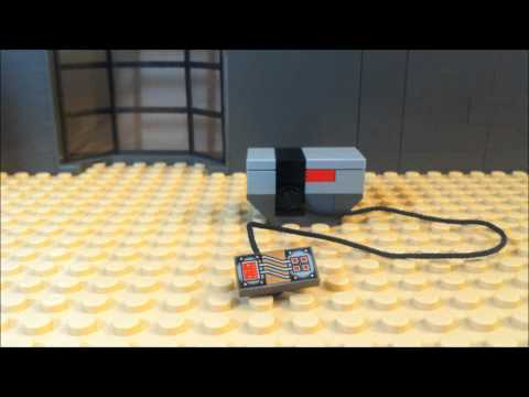 how to build a lego wheelchair