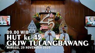 Ibadah Syukur HUT Tulangbawang ke 45 (Bahasa Jawa) | GKJW Jemaat Tulangbawang