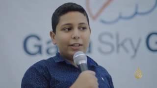 أول حاضنة لرعاية المشاريع التقنية في غزة