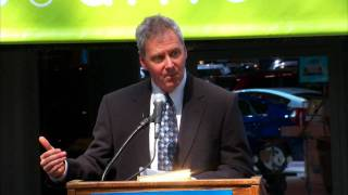 Steve Burns, CEO AMP Electric Vehicles - Press Conference at NY Auto Show