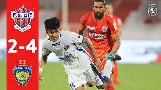 Hero ISL 2018-19 | FC Pune City 2-4 Chennaiyin FC | Highlights