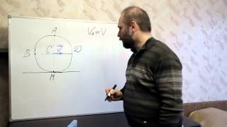 Физика. Урок № 14. Кинематика. Качение колеса