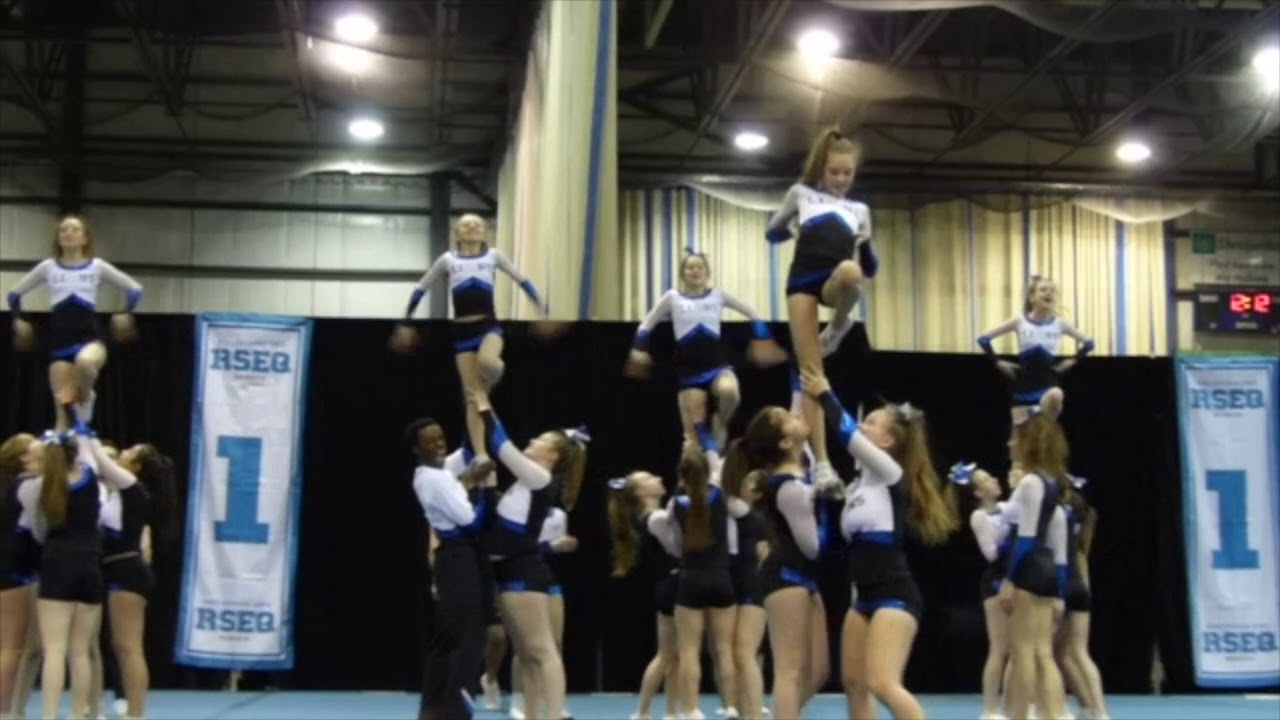 Lions École Chavigny Cheerleading niveau 3