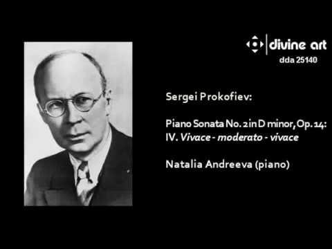 Prokofiev: Piano Sonata No. 2, Natalia Adreeva