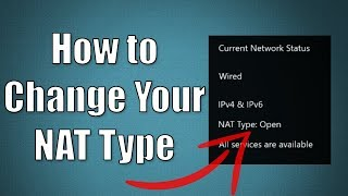 How to Change Your NAT Type Xbox Tutorial
