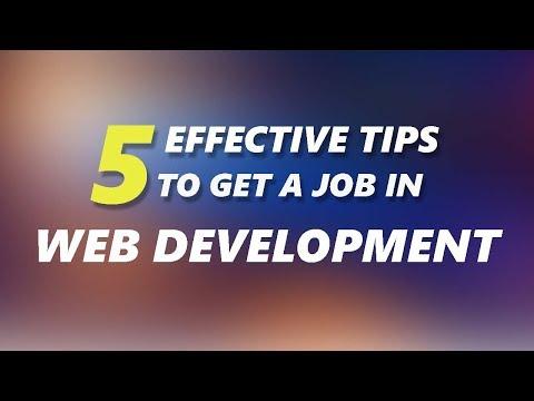 5 Tips to get a Junior Developer Job
