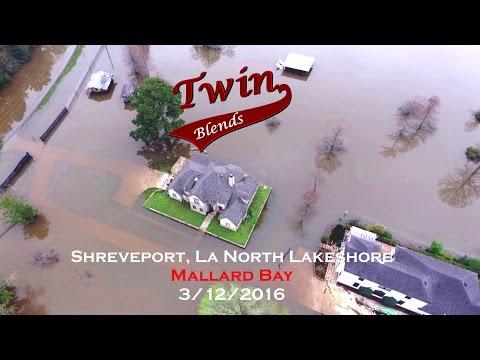 Mallard Bay Flooding  Shreveport, La   3/12/2016