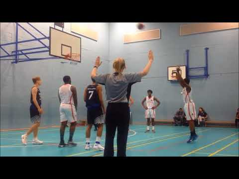 U18 Basketball Richmond Knights vs Richmond Park Academy Cougars
