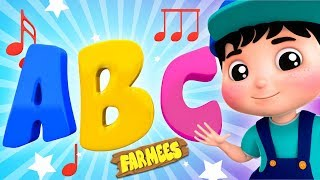 ABC Song   Learning Videos For Children by Farmees