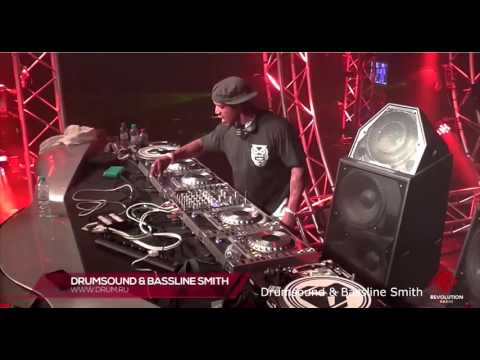 Drumsound & Bassline Smith - World Of Drum & Bass - Moscow 2015 dnbdrive.ru