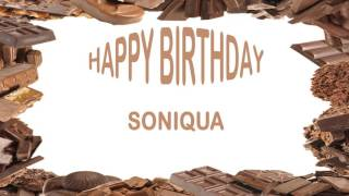 Soniqua   Birthday Postcards & Postales